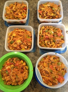 Portioned Casserole