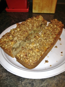 Vegan Walnut Struesel Bread
