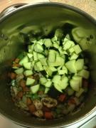 Zucchini in Soup