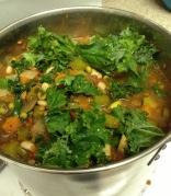 Kale in Soup