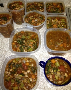 Portioned Soup