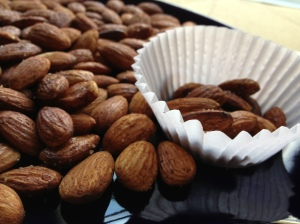 Salty Cinnamon Almonds