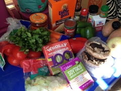 Burrito Bowl Cooking