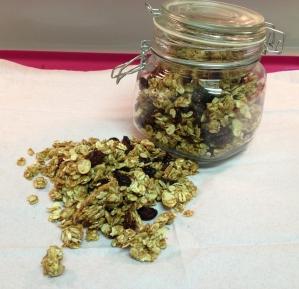 Clean Peanut Butter Granola