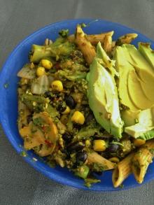 Vegan Guajillo Kale Pesto