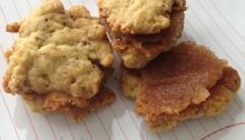 Vegan Apple Butter Cookie Sandwich