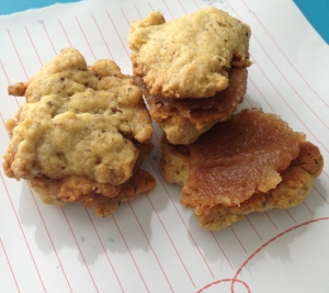 Vegan Apple Butter Cookie Sandwich