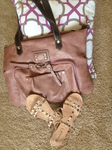 Vegan Purse and Sandals