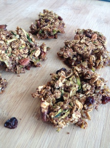 Vegan, Clean and Gluten Free Zucchini Oat Bars