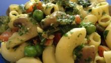 Vegan Summer Pesto and Veggies