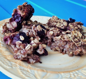 Vegan and Gluten Free Cherry Baked Oatmeal