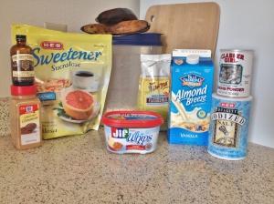 Vegan Gluten Free PB and Homemade Strawberry Jam Muffins