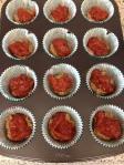 Gluten Free PB and Homemade Strawberry Jam Muffins
