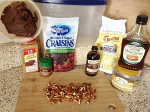Chocolate Shakeology Almond Butter Granola