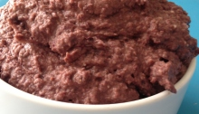 Kalamata Black Bean Hummus