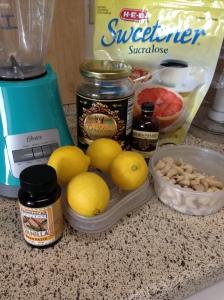 Lemon Cashew Frosting