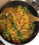 Vegan, Clean and Gluten Free Pumpkin Pad Thai