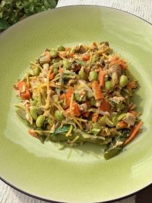 Vegan, Clean and Gluten Free Pumpkin Pad Thai