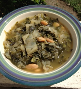Tuscan Greens and White Bean Soup