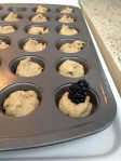 Vegan Sugar Free and Gluten Free Blackberry Protein Mini-Muffins