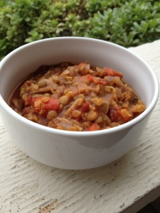 Two Lentil Soup, Vegan and Gluten Free