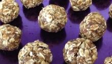 Raw 3 Ingredient Protein Balls