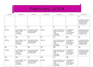 Fitting Into Vegan Feb14 Training Plan