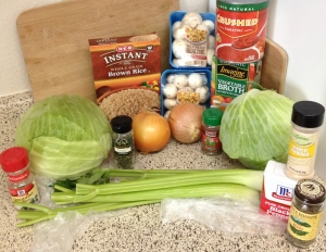 Vegan Cabbage Roll Soup