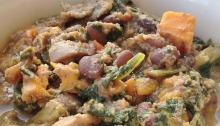Crockpot Leftover Queso Chili