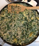 Vegan and Gluten Free Spinach Artichoke Dip Pasta