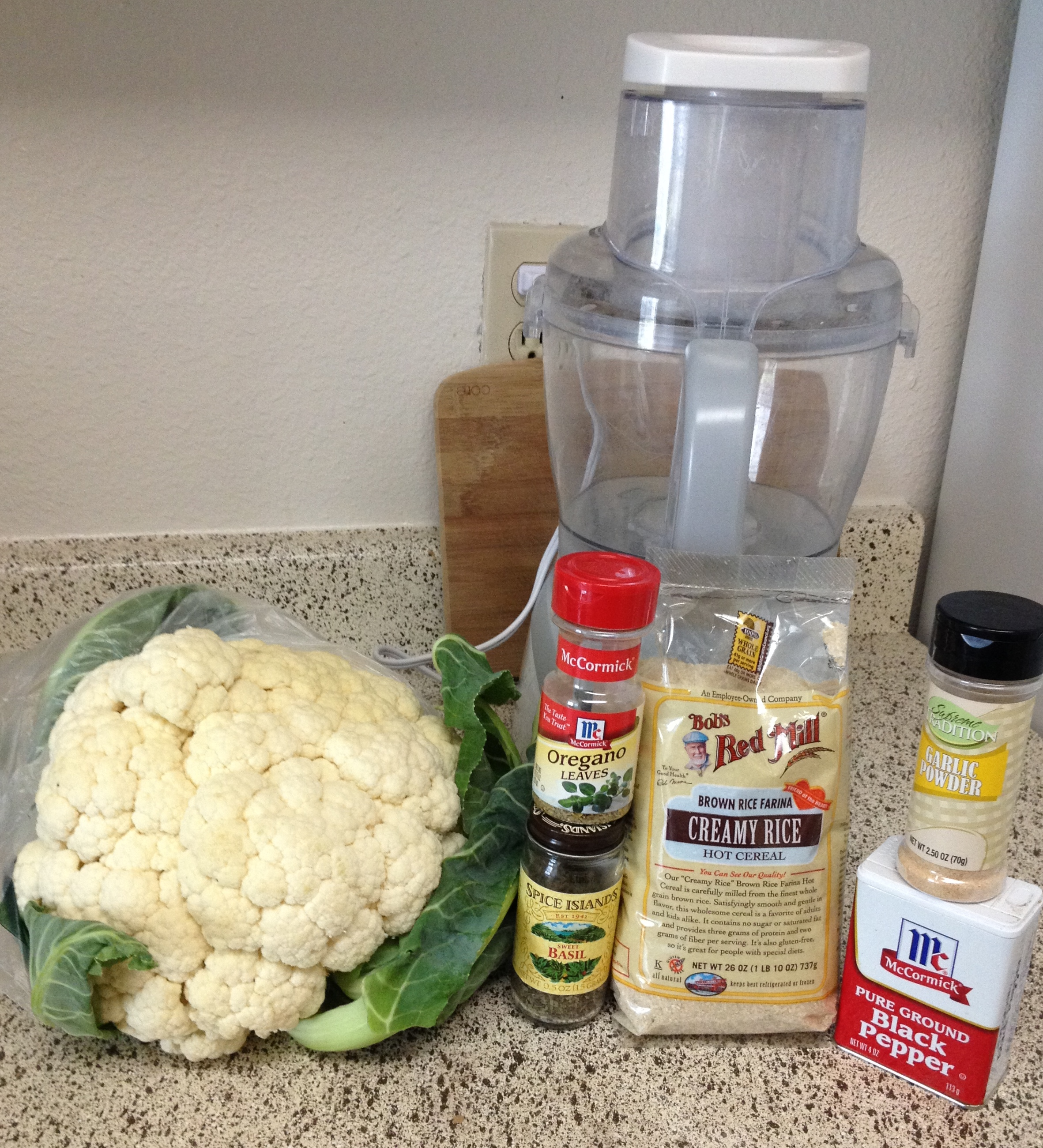 how to make cauliflower pizza crust vegan