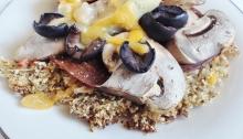 Cauliflower Pizza Crust - Vegan & GF