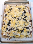 Taco Pizza with Cauliflower Crust
