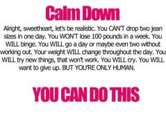 Calm Down, You Can Do This