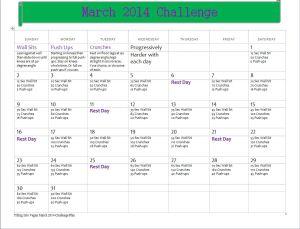 FIV March 14 Challenge