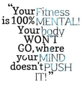 Fitness is Mental