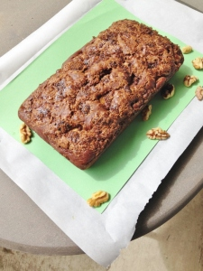 Vegan Pear Walnut Bread