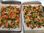 Vegan and Gluten-Free Sesame Chicken and Roasted Veggies