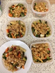 Vegan and Gluten-Free Sesame Chicken and Roasted Veggies