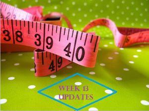 Week 13 Updates