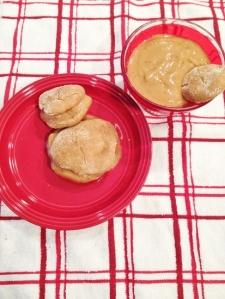 Vegan and Gluten-Free Gingerbread Cookie Sandwich