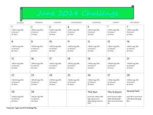 June 14 Challenge