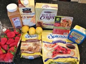 Mini Strawberry Lemonade Tofu Mousse, Vegan and Gluten-Free