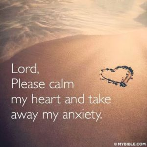 Please Calm My Heart