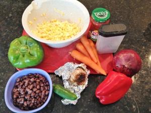 Vegan and Gluten-Free Spicy Salad Stuffed Sweet Potatoes