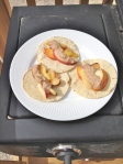 Vegan and Gluten-Free Grilled Fruit Tacos