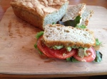 Herb Chicken Salad with Homemade Bread