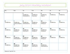 July Workouts