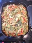 Vegan and Gluten-Free Singapore Flavored Veggie Pasta