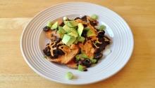 Vegan and Gluten-Free Sweet Potato Nachos